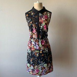 Olive & Oak Black Floral Print Dress